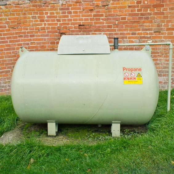 big propane tank