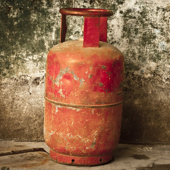 propane tank with wear