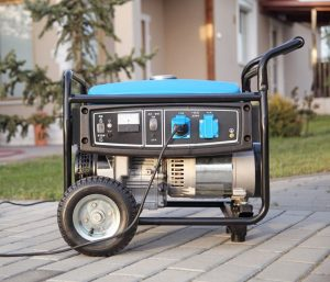 A Gas-Powered Mobile Generator